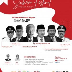 Bulan Bung Karno, Kepala BPIP hingga Ganjar Meriahkan Sukarno Festival secara Virtual