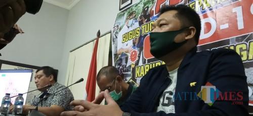 Wakil Jubir Gugus Tugas Percepatan Penanganan Covid 19 Tulungagung, Galih Nusantoro  (Joko Pramono for Jatim TIMES)
