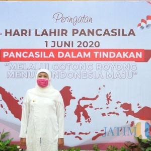 Hari Lahir Pancasila, Gubernur Jatim Khofifah: Tidak Boleh Egois di Situasi seperti Ini