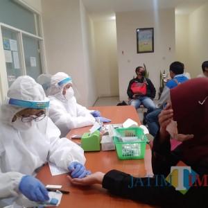 14 Pedagang Oro-Oro Dowo Dirapid Test Setelah Tersiar Kabar Ada Kasus Positif Covid-19