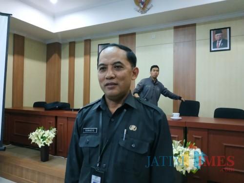 Kepala BPS Kota Malang, Sunaryo (Hendra Saputra)