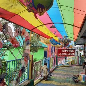 Wisata Kampung Warna-Warni di Malang Masih Tutup, Ketua RW: Kami Jaga Kesehatan Warga
