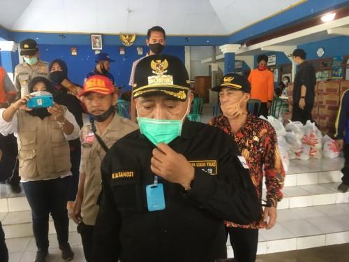 Bupati Malang, HM Sanusi saat memberikan tanggapan terkait bertambahnya pasien covid-19
