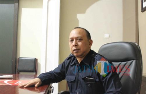 Ketua Komisi III DPRD Kota Blitar, Totok Sugiarto.(Foto : Aunur Rofiq/BlitarTIMES)