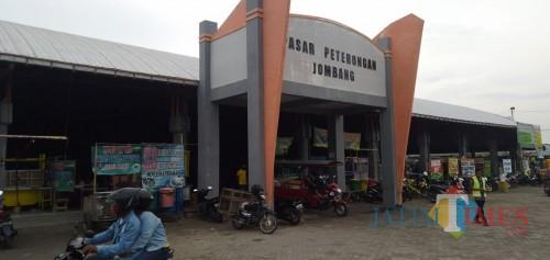 Seorang Pedagang Terinfeksi Covid-19, Pasar Peterongan Jombang Ditutup