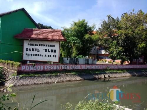 Lokasi Pondok Pesantren Darul Ulum Rejoso Jombang. (Foto : Adi Rosul / JombangTIMES)