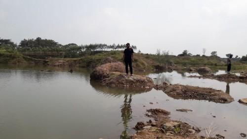 Bekas Galian C Tanpa Pagar Pembatas di Jombang Memakan Korban Jiwa