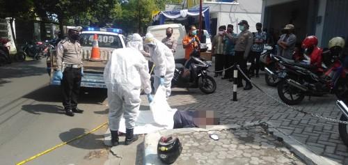Serangan Jantung saat Berkendara, Warga Malang  Meninggal  di Jombang