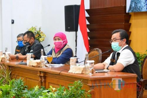 22,33 Persen Pasien Covid-19 Sembuh, Gubernur Khofifah Ingatkan Donor Plasma