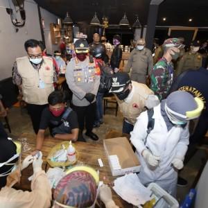 Pengunjung Kedapatan Reaktif Rapid Test, Kafe di Kawasan Sudimoro Ditutup