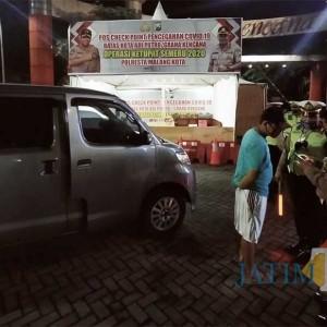 PSBB Selesai, Pos Penjagaan di Kota Malang Ini Masih Dipertahankan