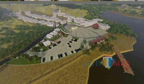 Salah satu perencanaan wisata Ranu Pani Lumajang (Foto : Moch. R. Abdul Fatah / Jatim TIMES)