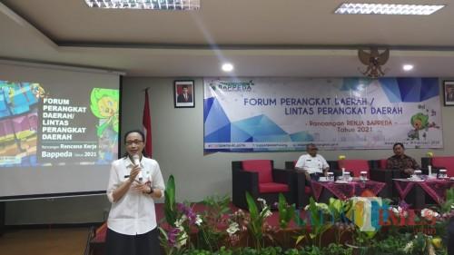 Kepala Badan Perencanaan Pembangunan Daerah (Bappeda) Kota Malang, Dwi Rahayu (Dokumentasi MalangTIMES).