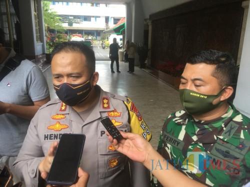 Wakil Komandan Satgas New Normal Life, AKBP Hendri Umar (Pito)