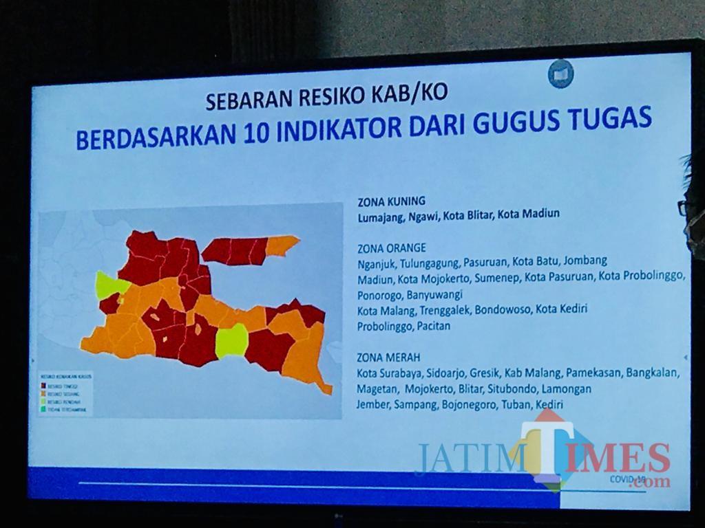 Kota Madiun Dan Blitar Turun Status Kuning Surabaya Masih Red Zone Covid 19 Malangtimes