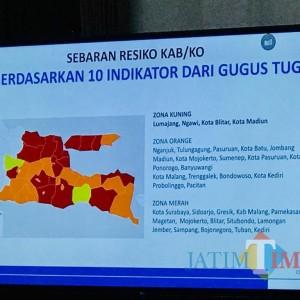 Kota Madiun dan Blitar Turun Status Kuning, Surabaya Masih Red Zone Covid-19