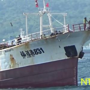 Heboh Dua ABK WNI Nekat Lompat dari Kapal China