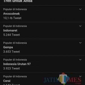 Jadi Trending Topic, Indonesia Urutan 97 Negara Teraman Covid-19, Warganet: Ambyar