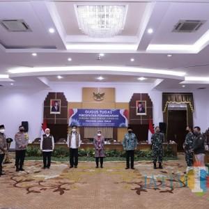 Regulasi Surabaya Raya dan Pakta Integritas, Heal the World jadi Spirit Cegah Covid-19
