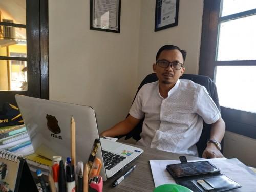 Kabid Penataan dan Peningkatan Kapasitas Lingkungan Hidup DLH Kota Malang Rahmat Hidayat (Hendra Saputra)
