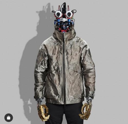 Full Metal Jacket buatan Vollebak yang diklaim anti virus. (Foto: instagram @vollebak).