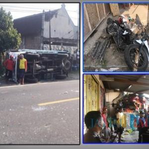 Kecelakaan Kerambol di Ngawi, Satu Nyawa Melayang