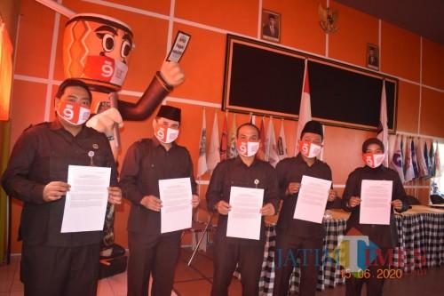 Sempat Tertunda Karena Covid-19, KPU Lanjutkan Tahapan Pilkada Kota Blitar