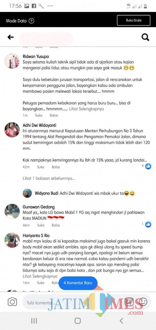 Gencar Sektor Wisata, Polisi Tidur Jalan Pahlawan Malah Menuai Kontra.