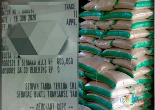 Struke KPM dikuras habis, barang yang diberikan agen tidak senilai uang / Foto : Istimewa / Tulungagung TIMES