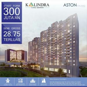 The Kalindra, Apartemen di Pusat Kota Malang yang Ramah di Kantong