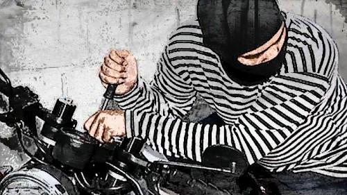 Ilustrasi pencurian kendaraan bermotor. (istimewa)
