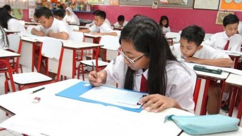 Ilustrasi siswa sekolah. (Foto: wartakota.tribunnews.com)