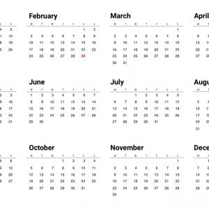 Beredar Kalender Tahun 1964 Sama Persis dengan 2020, Tanggal Merah Jadi Sorotan!