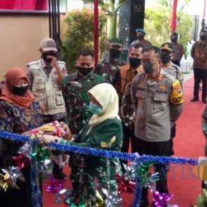 Bupati Kediri Resmikan Kampung Tangguh Semeru Desa Blawe