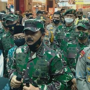 Pemberlakuan Protokol Kesehatan Covid-19, Panglima TNI: Sampai Ketemu Obatnya