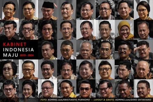 Hasil Survei ASI: Responden Setuju jika Kabinet Jokowi-Ma'ruf Amin Di-Reshuffle!