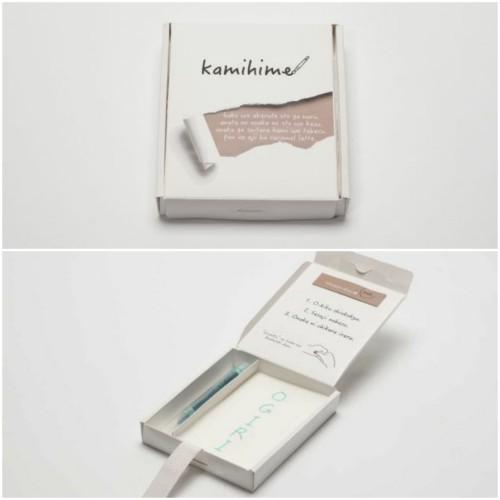 Kamihime, produk buku memo buatan perusahaan di Jepang yang bisa di makan. (Foto: soranews.com).