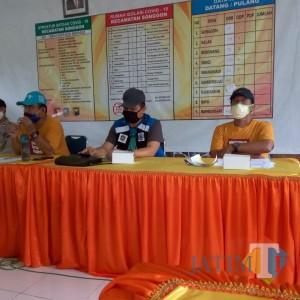 Selain Tangani Covid- 19, Kecamatan Songgon Juga Fokus Antisipasi Ancaman Banjir Kalibadeng