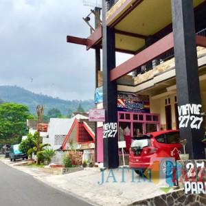 Vila Songgoriti Sudah Buka, Pengunjung Mulai Berdatangan