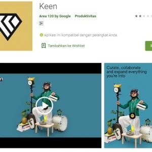 Bakal Saingi Pinterest, Google Rilis Aplikasi Pin Foto Keen