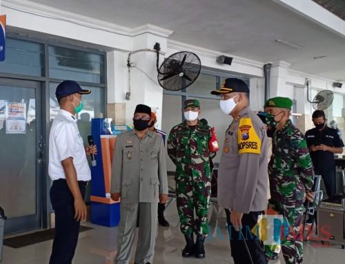 TNI-Polri di Blitar Sebar Personel,  Disiplinkan Penerapan Protokol Kesehatan