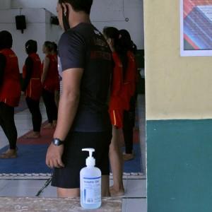 KONI Kota Kediri Mulai Latih para Atlet dan Terapkan Protokol Kesehatan Covid-19