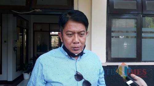 Kepala Disparbud Kabupaten Malang Made Arya Wedanthara saat menjelaskan sanksi bagi pelaku wisata yang melanggar protokol kesehatan selama pandemi Covid-19