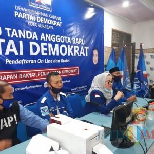 Demokrat Surabaya Launching KTA Jenis RFID