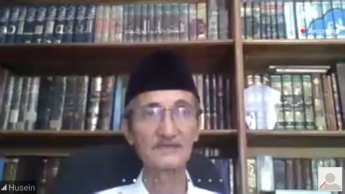 Pesan Kasih Husein Muhammad tentang Perempuan di Webinar UIN Malang