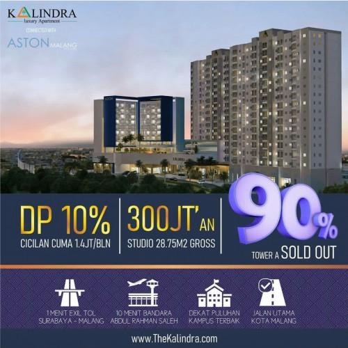 Apartemen The Kalindra Malang, Harga Santuy Fasilitas Sultan