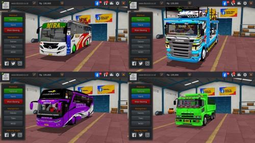 MOD BUSSID (Bus, Truck, Mobil & Motor)