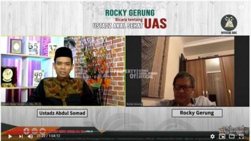 Ditanya Andai Jadi Presiden Mau Apa, Jawaban Rocky Gerung Bikin UAS Terpingkal