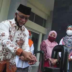 Sambut New Normal Life, UIN Malang Luncurkan Westafel Sensor Hemat Air