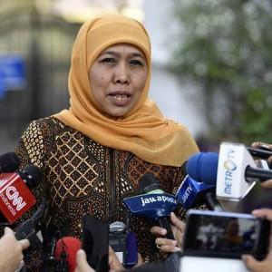 Curhatan Khofifah ke Jokowi Soal Kasus Covid-19 di Jatim yang Terus Meningkat